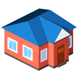 House Home Building Students Standard City Standard City 128px Icon Gallery